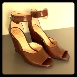 Vince Camuto Brown Wedge
